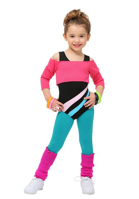 toddler 80 s workout costume - 80s Costume