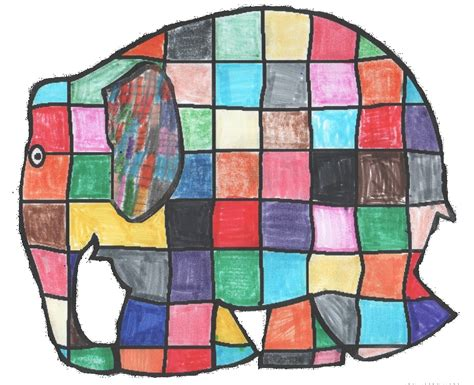 The Patchwork - file 2013 elmer elephant patchwork png