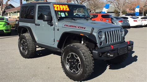 Used Rubicon For Sale by Cars For Sale Used 2013 Jeep Wrangler 4wd Rubicon For