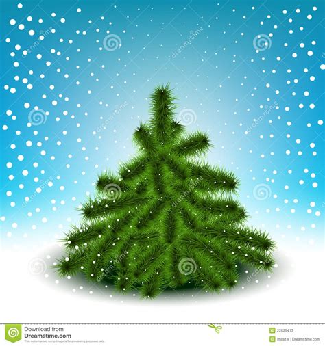 little fluffy christmas tree stock photos image 22825413