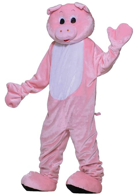 pig costume for deluxe pig mascot costume