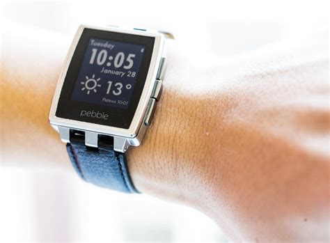Smartwatch Pebble pebble steel smartwatch review rating pcmag