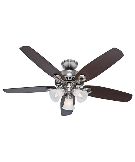 fan builder plus 52 inch ceiling fan with light kit
