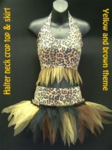 tutu outfit cave girl jungle theme fancy dress costume