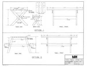 8 Foot Picnic Table Material List » Home Design 2017