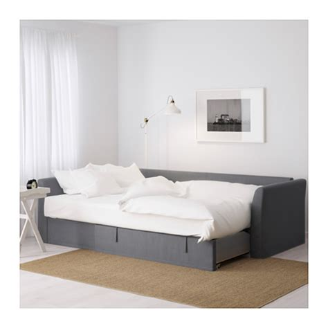 Futon With Chaise Holmsund Corner Sofa Bed Nordvalla Medium Grey Ikea