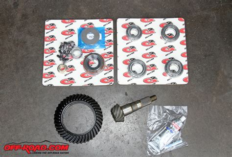 Jeep 4 56 Gears Jeep Wj Project Detroit E Locker G2 Gear Installation