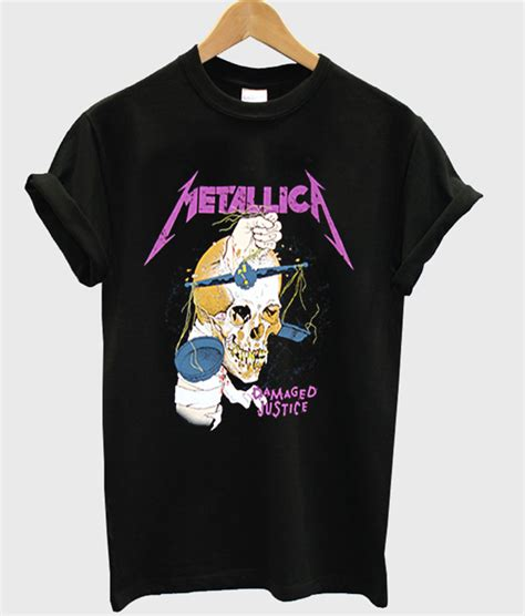 Metallica T Shirt White metallica t shirt stylecotton