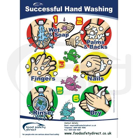 printable hand washing poster fsd successful hand washing posters food safety direct