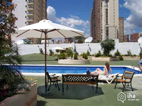 appartments benidorm flat apartments for rent in benidorm iha 1342