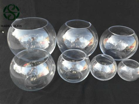 Glass Fishbowl Vase Cheap by Most Popular Manufacture Fish Bowl Glass And Shaped