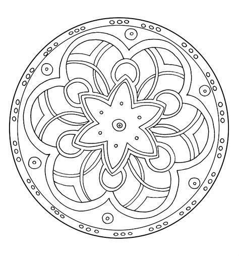 free mandalas coloring gt flower mandalas gt flower mandala simple mandala coloring pages simple mandala 6 simple