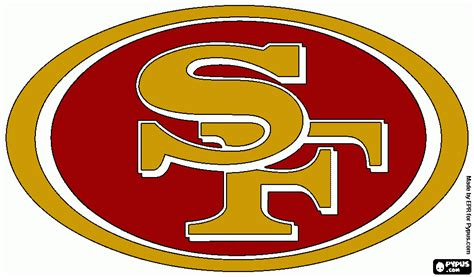 49ers Coloring Page by Free Coloring Pages Of 49ers