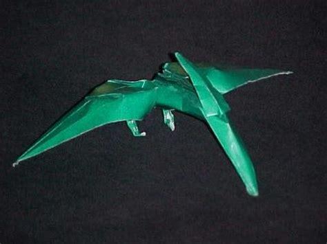 Origami Pteranodon - diagrami pteranodon