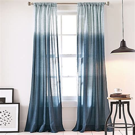 Ombre Window Curtains Dkny Ombre Window Curtain Panel Bed Bath Beyond