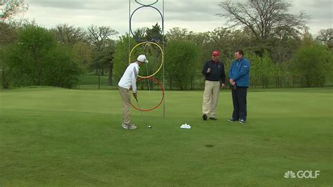 circular golf swing swing the golf club on circle plane for better contact