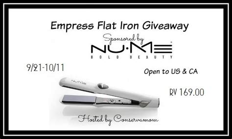 Nume Giveaway - nume flat iron giveaway everyday shortcuts