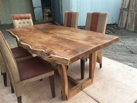 live edge slab dining room table sundara live edge table acacia live edge dining tables