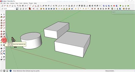 google sketchup dimensions tutorial how to create your first 3d model in sketchup a beginner
