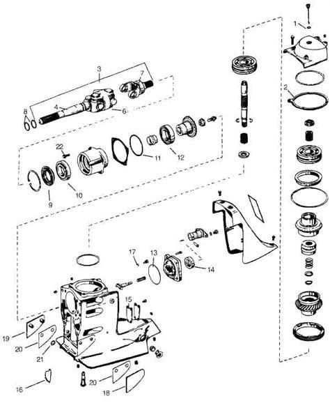 volvo penta sx outdrive diagram volvo penta omc cobra sx omc parts drawing