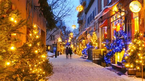 world best christmas city and season in qu 233 bec city