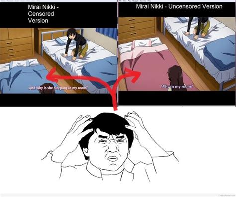 Mirai Nikki Memes - mirai nikki meme bing images