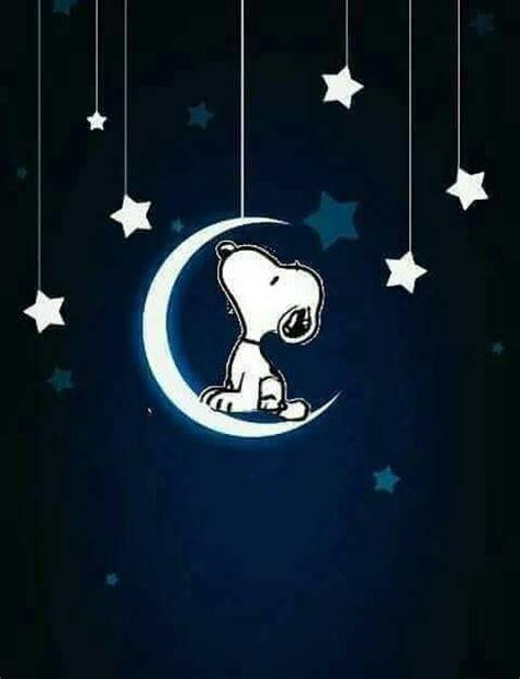 imagenes de buenas noches de snoopy snoopy sulla luna immagini belle