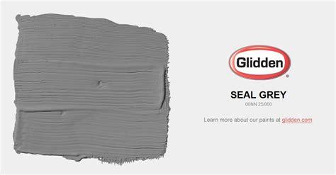 seal grey paint color glidden paint colors
