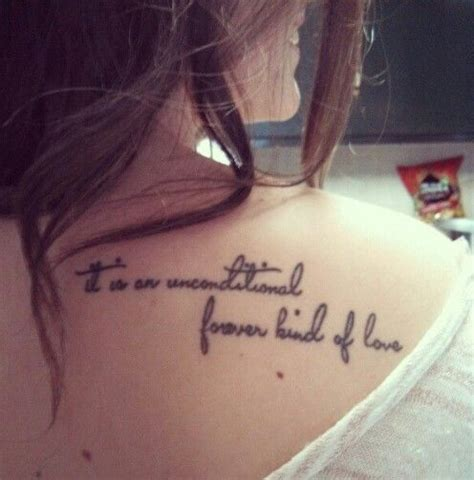 mother son tattoos quotes shoulder quote me