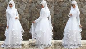 Wedding dress muslimah nely afifi