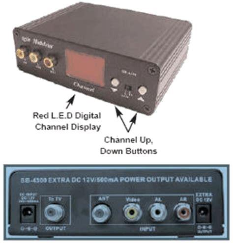 Modulator Tv Kabel Digital rf modulator cctv forum