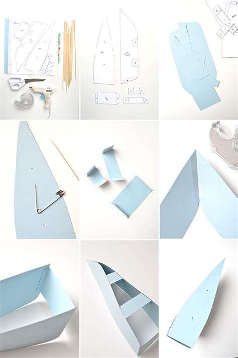 For A Paper Boat - diy paper boat decorations