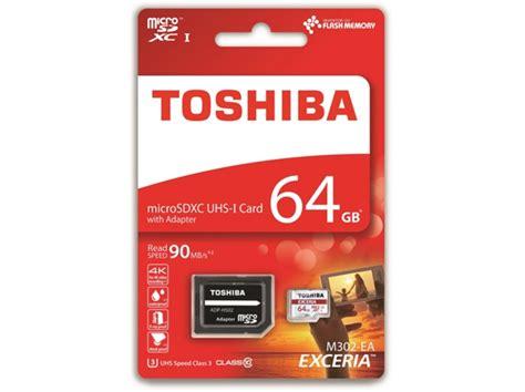 Microsd Toshiba 64gb micro sd toshiba exceria 64 gb 90mb s worten