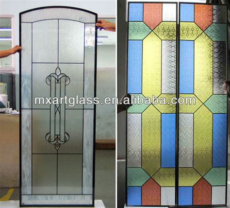Mx200003 China Wholesale Customized Interior Stained Glass Stained Glass Sliding Doors