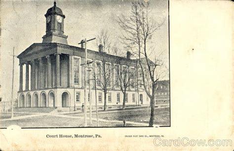 montrose court house court house montrose pa