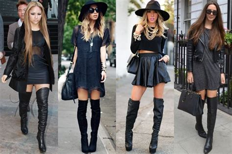 wear boots   styles  heights thigh