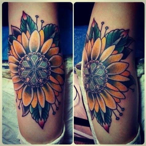traditional sunflower tattoo best 20 traditional mandala ideas on