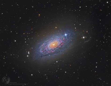 sunflower galaxy apod 2014 march 13 messier 63 the sunflower galaxy