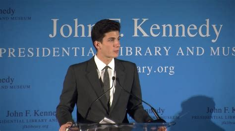 jfk grandson schlossberg jfk s grandson on the importance of