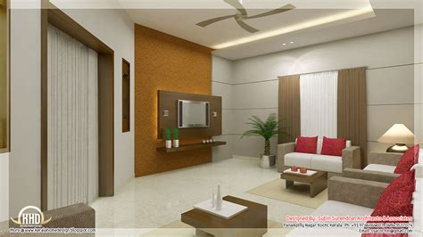 Home Interior Decoration Awesome 3d Interior Renderings Kerala House Design