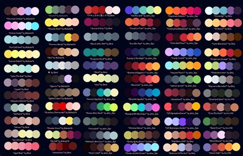 color palletes colour palettes no 1 by striped tie deviantart on