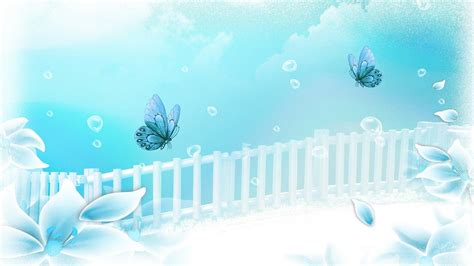 wallpaper biru aqua aqua flower dreamer hd desktop wallpaper widescreen