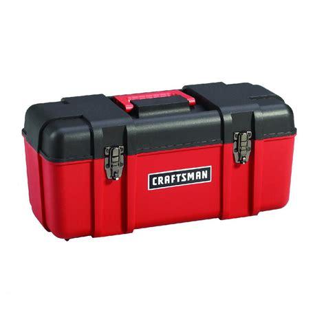 craftsman tool box craftsman 20 quot plastic tool box