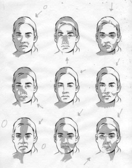 Wie Zeichnet Schatten by Zeichnen Lernen Licht Und Schatten Im Portrait Dekoking