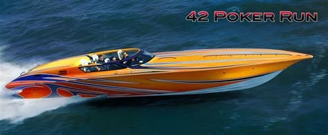 fountain speed boat a 42 fountain poker run speed boat um no it doesn t