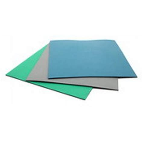 Rubber Esd Mat by Botron B6523 Esd Table Mat Rubber 2 Layer Blue