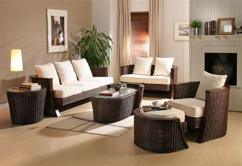livingroom furniture ideas rattan living room design ideas home designs project