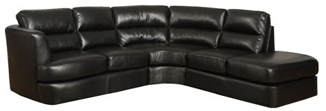 black bonded leather sectional black bonded leather match tufted sectional from monarch