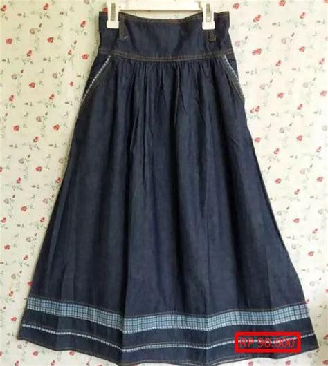 rok denim anak by milako fashion 36 model rok panjang anak yang banyak di cari style