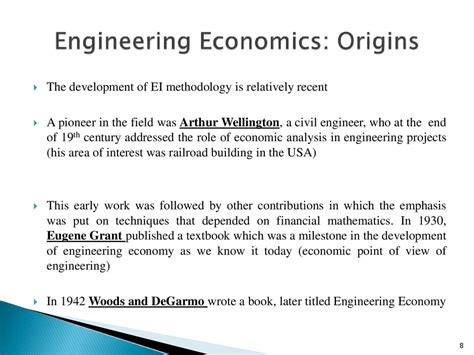 Economics Engineering 6 engineering economics
